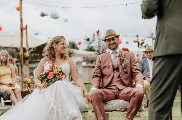 Huwelijk Anne en Floris
