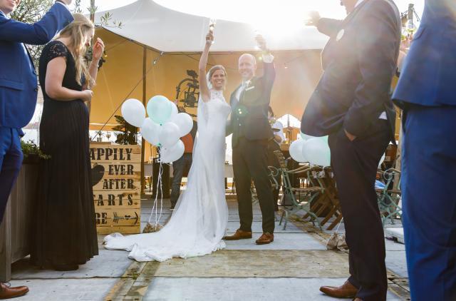 Huwelijk Tom en Marlou