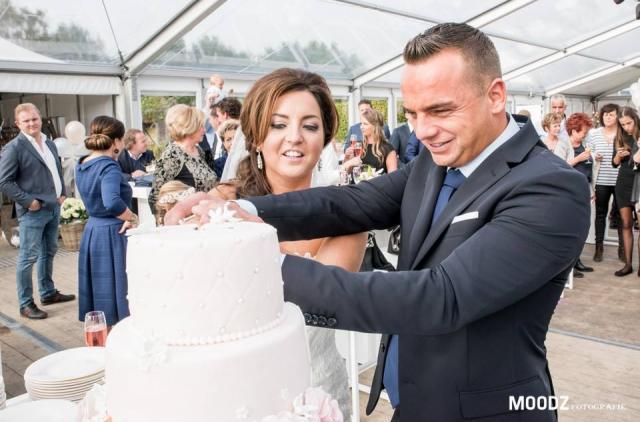 Huwelijksfeest Bert en Kristel