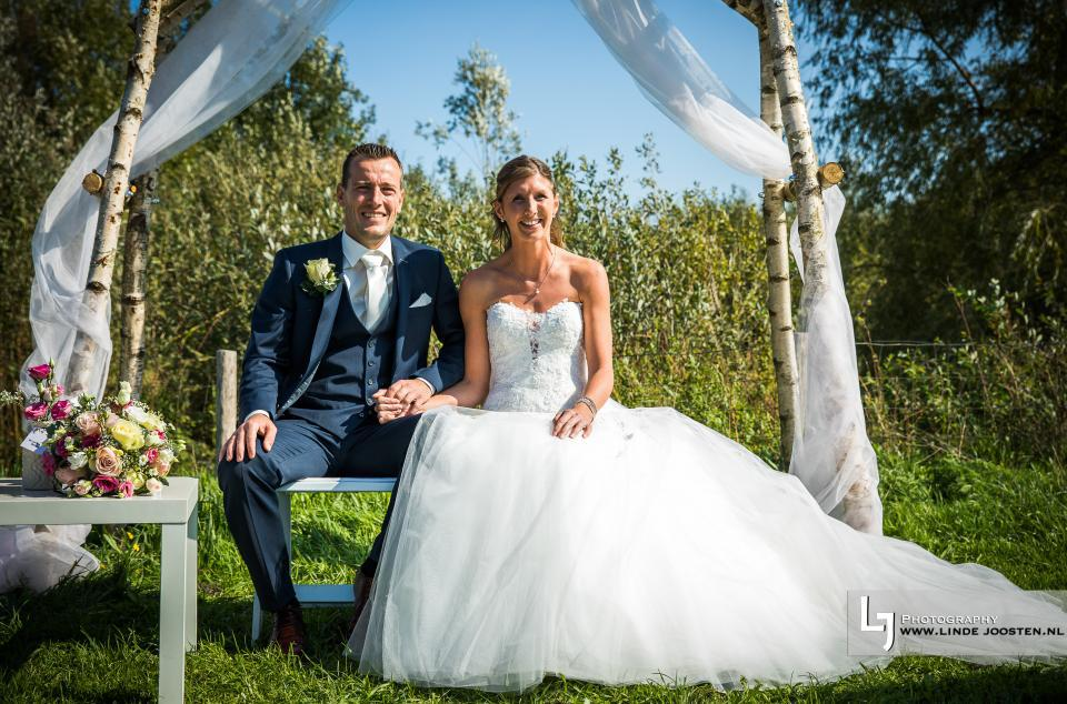 Huwelijk Rick en Yvonne